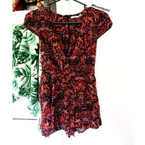 Urban Outfitters floral romper 🌿